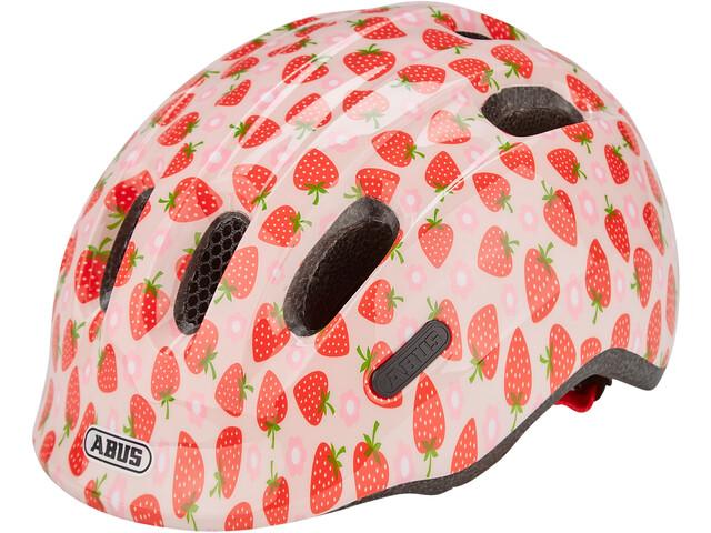 ABUS Smiley 2.1 Casque Enfant, rose strawberry